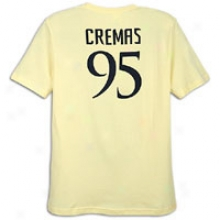 Club America Nike Club Akerica 95th Day of annual celebration Core T-shirt - Mens - Pale Yellow