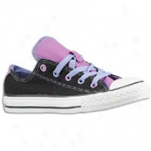 Converse All Star Double Tongue - Little Kids - Black/multi