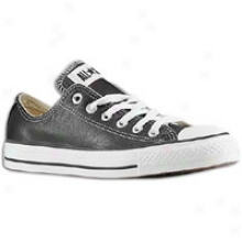 Converse All Star Ox Leather - Mens - Black/white
