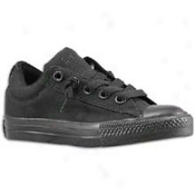 Converse All Star Street - Big Kids - Black Monochrome