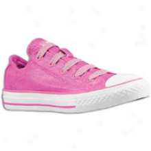 Converse All Star Stretch Lace - Big Kids - Raspberry Rose