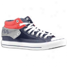 Converse Padded Collar 2 Mid - Mens - Navy/geey/red