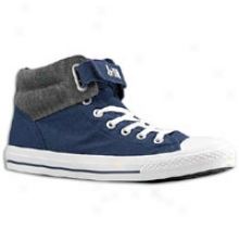 Converse Pc 3 Loopback Canva/ssuede - Mens - Athletic Navy/grey
