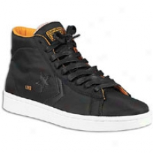 Converse Undefeated Pro Leather - Mens - Black/autumn Glory/white