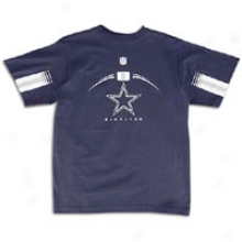 CowboysR eebok Sideline Gun Explain T-shirt - Big Kids - Navy