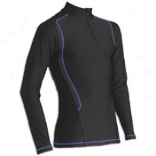 Cw-x Insulator Web Top - Mens - Black/blue