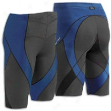 Cw-x Po Shorts - Mens - Black/navy