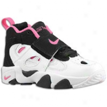 Deion Sanders Nike Air Diamond Turf Ii - Little Kids - Black/pink Flash/white
