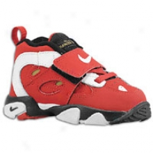 Deion Sanders Nike Air Diamond Turf Ii - Toddlers - Vasrity Red/white/metallic Gold/black