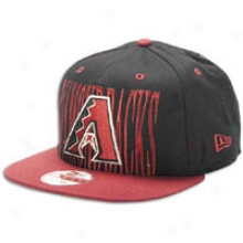 Diamondbacks New Era Mlb Step Above Snapback - Mens - Black