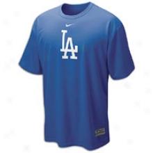 Dodgers Nike Drifit Logo T-shirt - Mens - Royal
