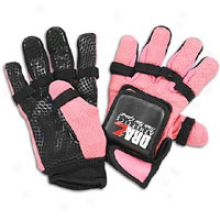 Draz Weighted Agility Gloves - Womens - Black/pink