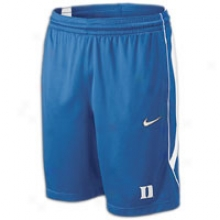 Duke Nike College On-court Pre-game Short - Mens - Royal