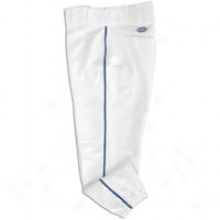 Easton Low Rise Pro Piped Pant - Womens - White/royal