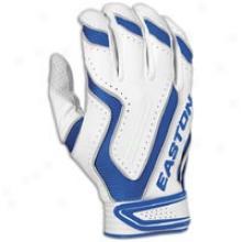 Easton Omen Batting Glove - Mens - White/royal