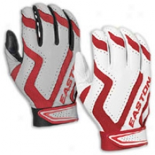 Easton Rival Home & Road Batting Glove - Mens - Red