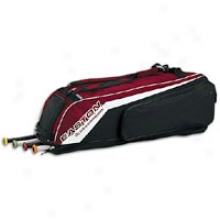 Easton Synergy Ii Wheeled Bag - Maroon