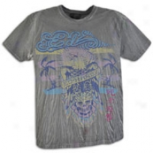 Ed Hardy Eagle Specialty S/s T-shirt - Mens - Black