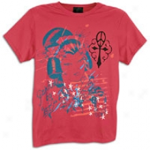 Ed Hardy Geisha Basic S/s T-shirt - Mens - Berry