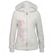 Ed Hardy Life Love Luck Zip Hoodie - Womens - Stone