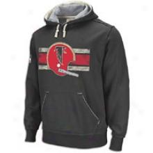 Falcons Reebok Nfl Vintage Pullover Hoodie - Mens - Black