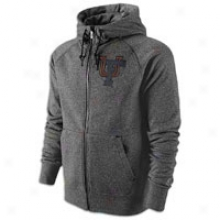Florida Nike College Aw77 Full-zip Hoodie - Mens - Black Heathre