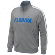 Florida Nuke College Hyper Elite N98 Game Jacket - Mens - Dark Steel Grey