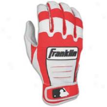 Franklin Cfx Pro Batting Gloves - Mens - Pearl/red