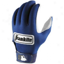 Franklin Apathetic Endure Batting Gloves-  Mens - Navy