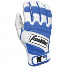 Franklin Natural Ii Batting Gloves - Mens - Pearl/royal