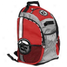 Gear Guard Scout Backpack - Red