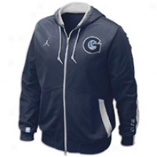 Georgetown Jordan College On-court Game Jacket - Mens - Navy