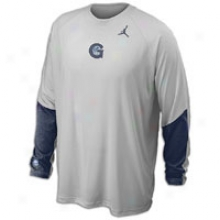 Georgetown Jordan Colllege On-court Shooting Shirt - Mens - Grey