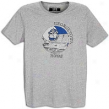 Georgetown Smartthreads College Dustin T-shirt - Mens - Heather Grey