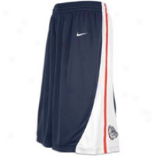 Gonzaga Nike College Twill Shorts - Mens - Navu