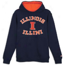 Illinois Team Edition College Fleece Hoodie - Mens - Navy