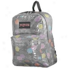 Jansport Remote  Stakes Backpack - Grey Tar/multi Hex