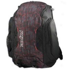 Janspport Instigator Backpack - Black/red Tape