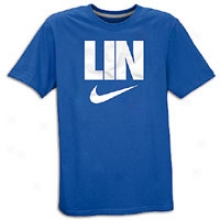 Jeremy Lin Nike Lin Swoosh T-shirt - Mens - Varsity Royal