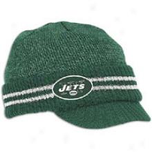 Jets Reebok Nfl Sideline 2nd Season Player Knit - Mens - Hunter