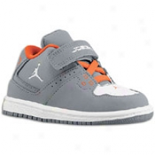 Jordan 1 Flight - Toddlers - Cool Grey/wyite/team Orange
