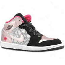 Jordan 1 Phat - Little Kids - Black/storm Pink