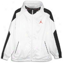 Jordan 2012 Franchise Jacket - Mens - White/gym Red/black