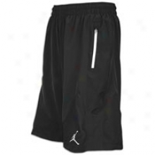 Jordan 201 2Immunity Short - Mens - Black/white
