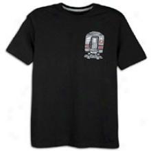 Jordan 3 Train T-shirt - Mens - Black/challenge Red/wolf Grey