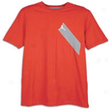 Jordan 3d Color T-shirr - Mens - Varsity Red/wolf Grey/white