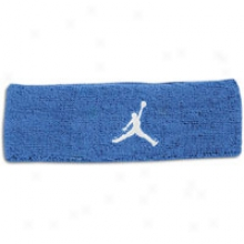 Jordan 3d Headband - Mens - Military Blue/white