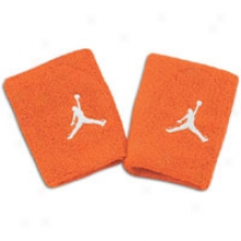 Jordan 3d Wristband - Mens - Team Orange/white