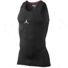 Jordan Advance Compression Tank - Mens - Black/white