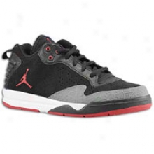 Jordan Aftergame Ii - Big Kids - Black/varsity Red/white